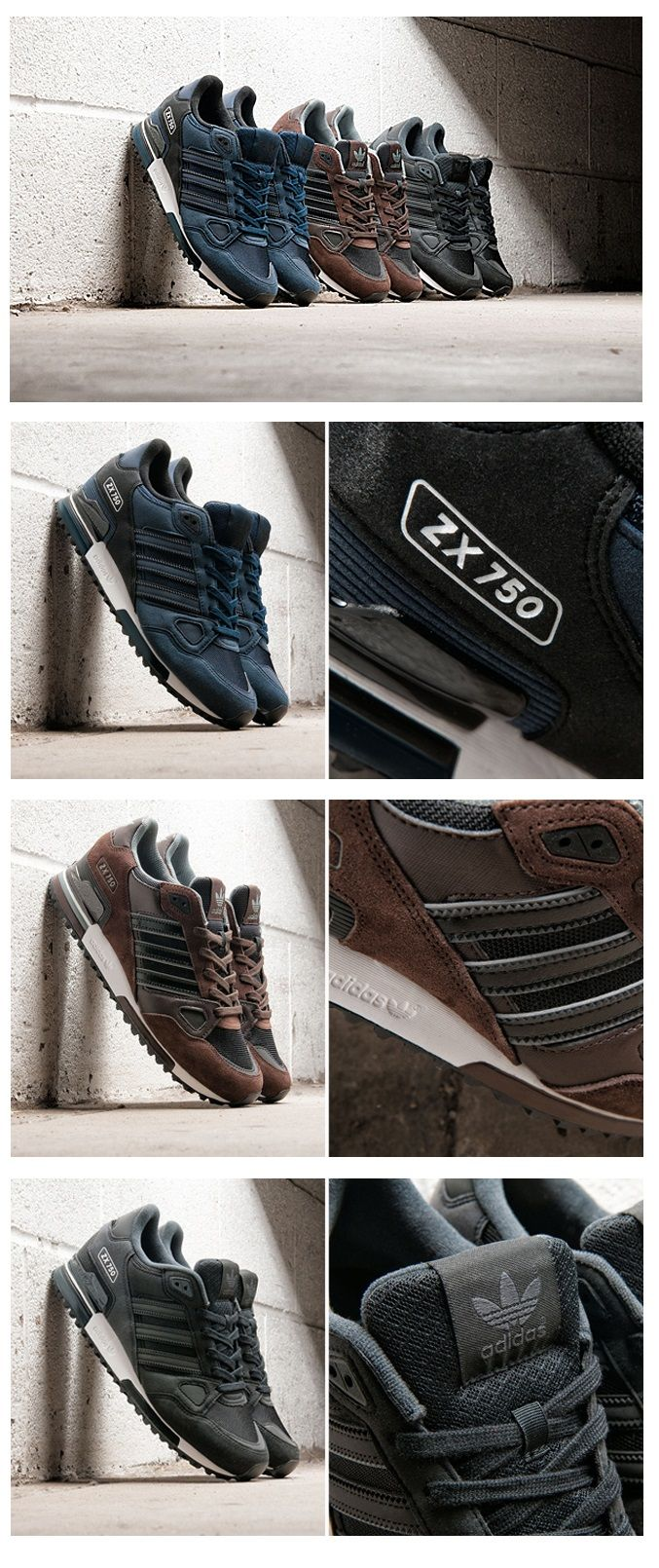 adidas ZX750; JD Sports Exclusive trainers shoes fashion style men sport