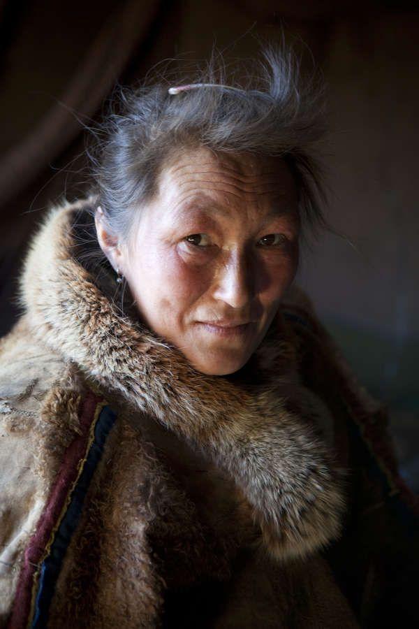 Nenet Woman, Yamal Peninsula, Siberia by Steven Morgan