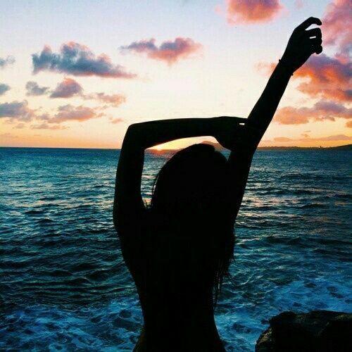 Photography   Tumblr Girl Sunset Beach Ocean Summer Adventure Inspiration  