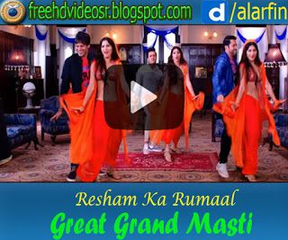 Resham Ka Rumaal Video Song | Great Grand Masti | Urvashi Rautela | Riteish | Vivek | Aftab http://ift.tt/2htVR6H