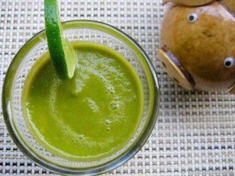 Best Vitamix Smoothie Recipes   Raw Vegan Spicy Vegetable Green Smoothie   Healthy Blender Recipes