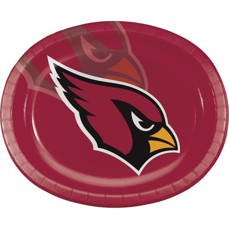 "Arizona Cardinals 10"" x 12"" Oval Platter/Case of 96 Tags: Arizona Cardinals; Platters; NFL Tableware; Arizona Cardinals party;Arizona Cardinals party decorations;Arizona Cardinals Platters; https://www.ktsupply.com/products/32786352276/Arizona-Cardinals-10doublequote-x-12doublequote-Oval-PlatterCase-of-96.html"