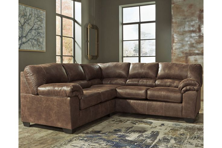 Best Bladen 2 Piece Faux Leather Sectional Ashley Furniture 400 x 300