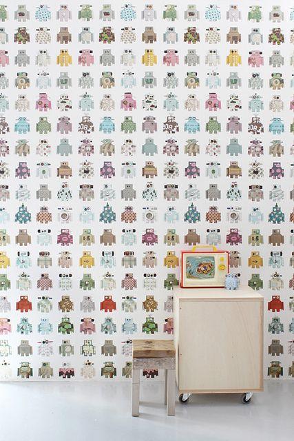 robot wallpaper soukshop.com