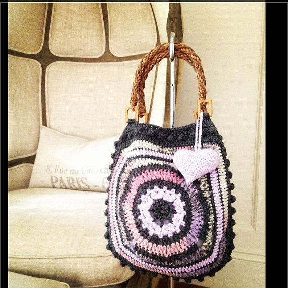 The Coco Crocheted Bag by AnnooCrochet on Etsy, $69.99