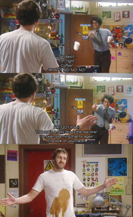 Oh my God, one of my favorite scenes from IT Crowd!