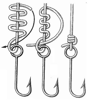 Best 25 fishing hook knots ideas on pinterest fishing for Best fishing hook knot