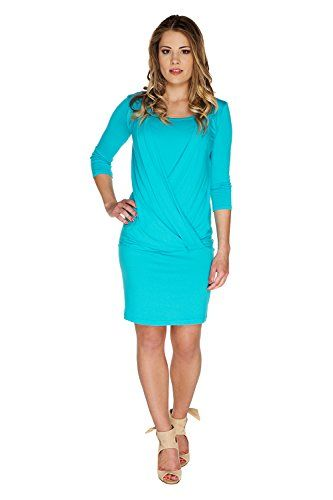 My Tummy Womens Maternity Nursing Dress Linda Turquoise Blue M Medium * Check out this great product.Note:It is affiliate link to Amazon.