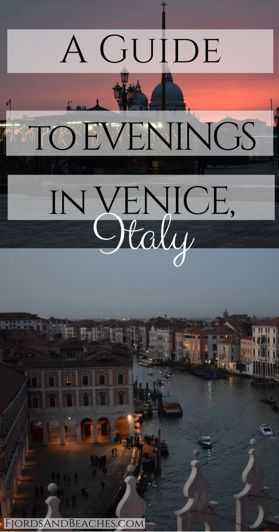 A Guide to Evenings in Venice, Italy. What to do in Venice in the evening. Top Venice evening activities.  ✈✈✈ Don't miss your chance to win a Free International Roundtrip Ticket to Milan, Italy from anywhere in the world **GIVEAWAY** ✈✈✈ https://thedecisionmoment.com/free-roundtrip-tickets-to-europe-italy-milan/