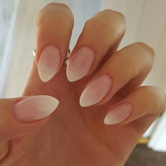 Babyboomer nails / ombre French!  First attempt