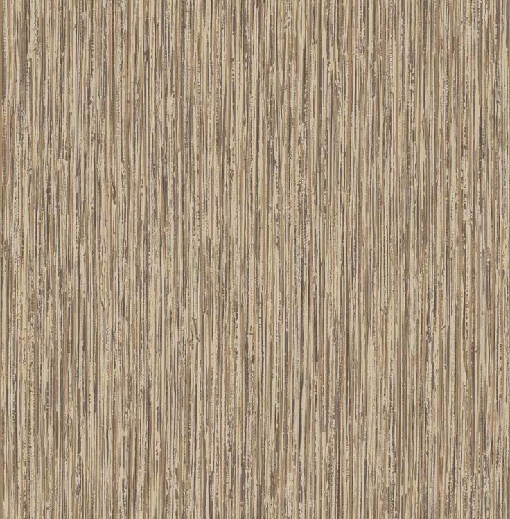 Vertical grasscloth effect antique gold Gold wallpaper