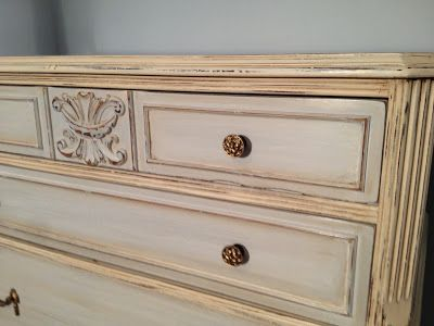 Sensible-Redesign: Rice bed and Antique Chest of Drawers