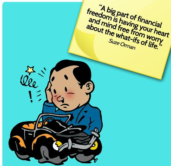 """A big part of #Financial freedom is having your heart and mind free from worry,, about the waht-ifs #Life...""""Suze Orman"""""""
