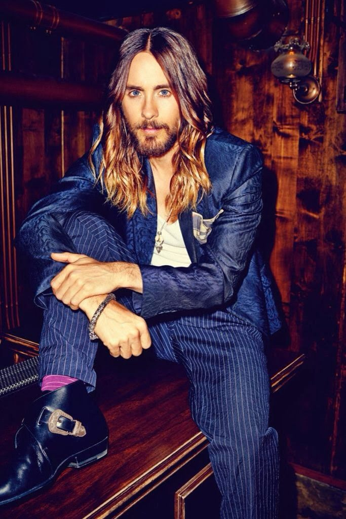 Visual Fashionist Jared Leto shatush