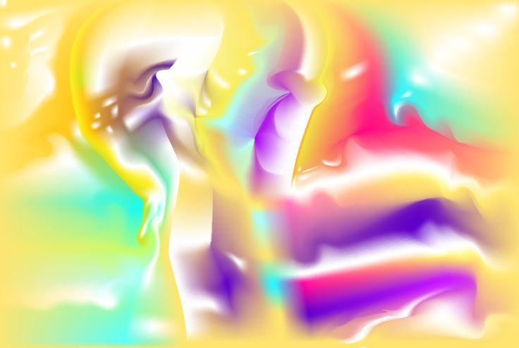 """Nescius"" abstract modern digital art by Ron Labrzyy"