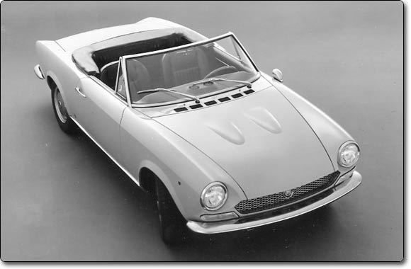 1966 fiat sport spider - Lovely lines