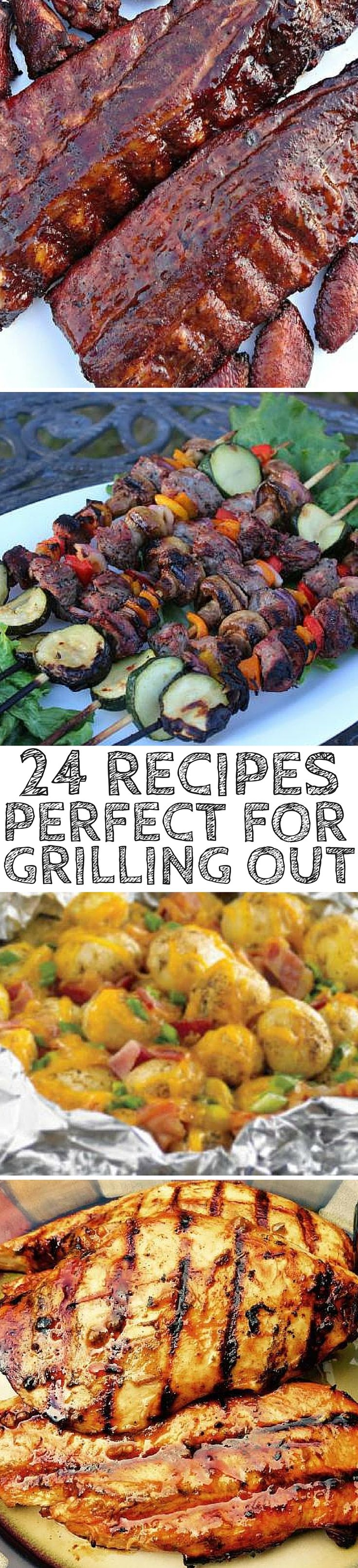 Grilling season is here! This is your one-stop shop for all the grilling recipes you need to make your Spring and Summer cook outs absolutely awesome!