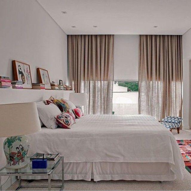 2 cortinas!!! Bom dia!  Projeto Maria di Pace #assimeugosto #quartolindo