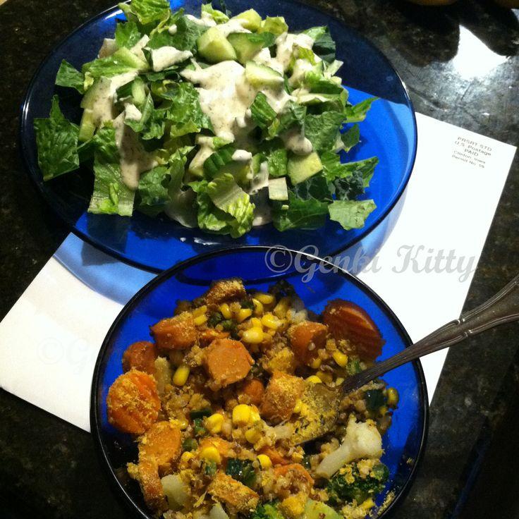Lazy Vegan Dinner Idea