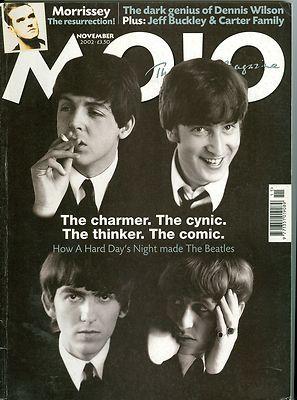 The Beatles Cover Mojo Magazine 2002 John Lennon Paul McCartney George Harrison