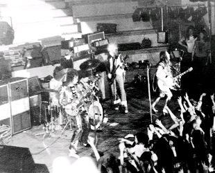 FAMOUS VISITORS: Slade entertain fans at King George's Hall in their 70s pomp. 90 years of magic as Blackburn's King George's Hall reaches another special milestone (From This Is Lancashire)
