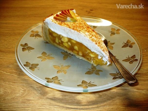 Luxusný jablkový koláč (fotorecept)