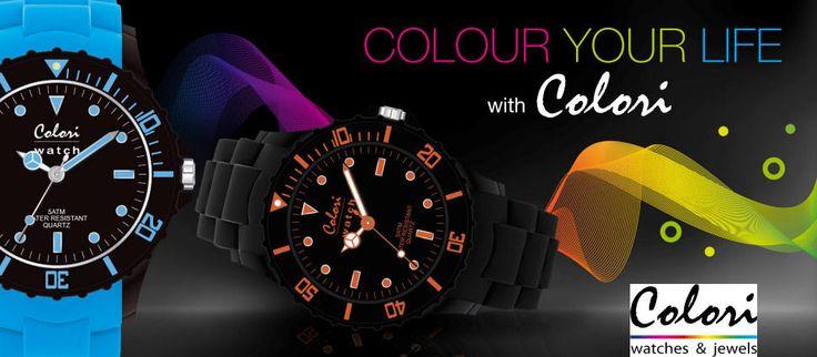 Ανακαλύψτε τα ΝΕΑ χρωματιστά ρολόγια COLORI μόνο στο OROLOI.GR! http://www.oroloi.gr/index.php?cPath=652