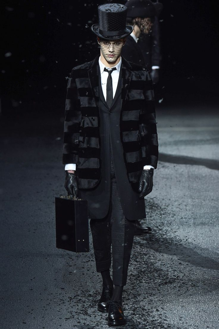 See the Thom Browne autumn/winter 2015 menswear collection