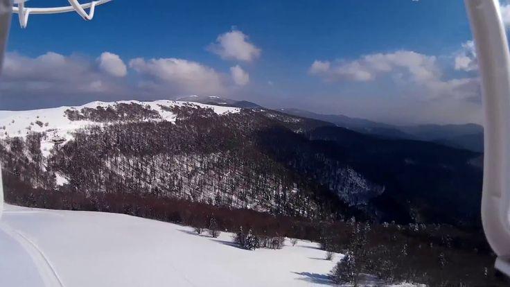 Session de vole en altitude au Markstein enneigé