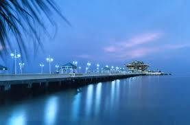 The St. Petersburg Pier. My home and a true landmark. As a little girl, and as a mom - I Love the Tampa Bay Area.