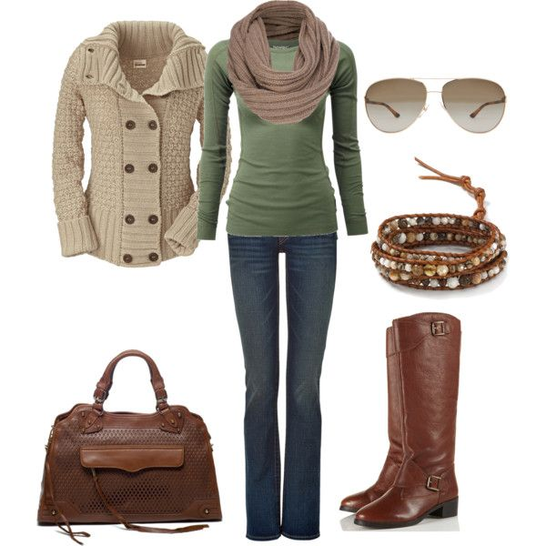 """""""Casual Fall Winter Outfit"""" by natihasi on Polyvore"""
