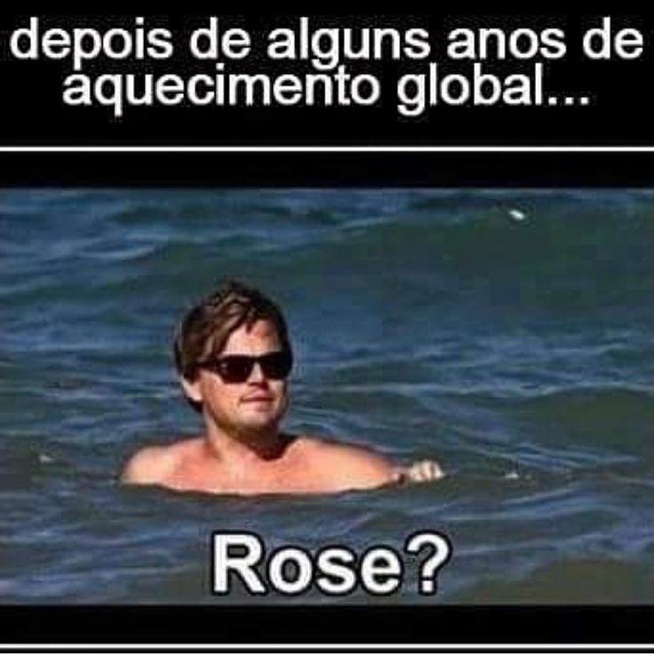 """(@soueunavida) no Instagram: """"Jack descongelou #rose #titanic #soueunavida"""""""