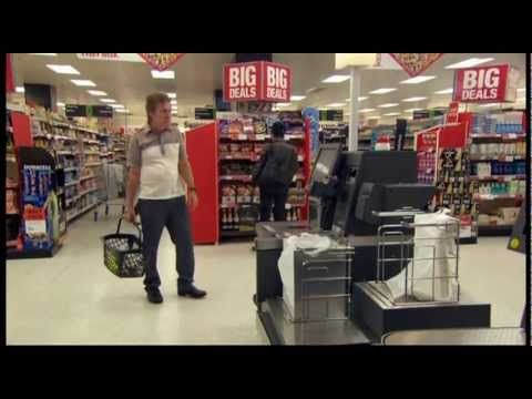 Self Service Checkout Comedy Sketch starring Griff Rhys Jones