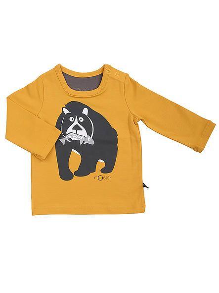 KikiBo Kidsfashion | nOeser. Longsleeve Bruno the Bear uit de wintercollectie 2015 van #nOeser. Verkrijgbaar in de winkel & webshop van #KikiBo (www.kikibo.nl).