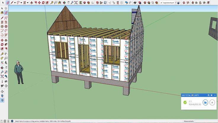 Каркасный дом # проектируем сами