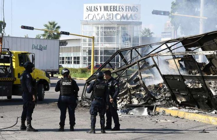 Cartel chaos in mexico alfredo estrellaafp via getty