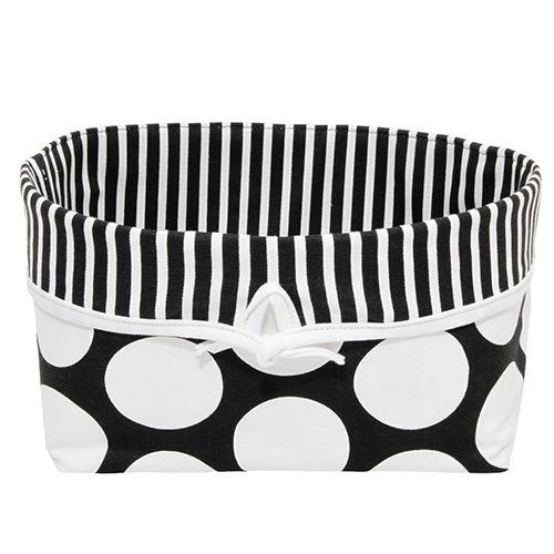 Sweet Kyla - GROOVY GIRAFFE Soft Nursery Basket - Large Dot with Stripe, $35.99 (http://www.sweetkyla.com/groovy-giraffe-soft-nursery-basket-large-dot-with-stripe/)