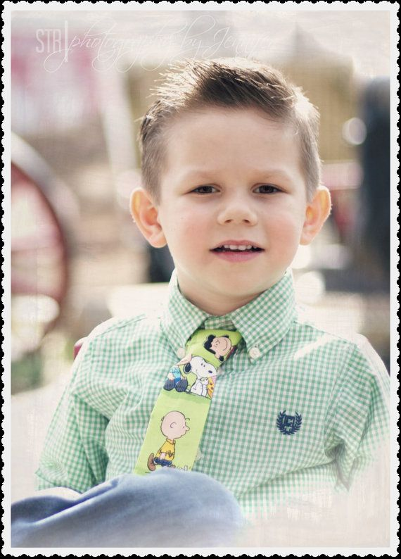 Charlie Brown Easter Boys Necktie by GigglesnGumdrops2008 on Etsy, $9.50