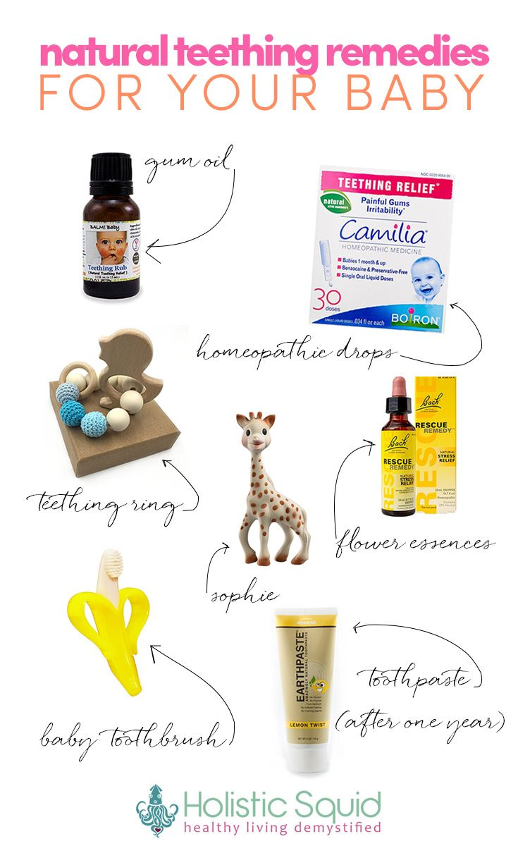 Natural Teething Remedies For Your Baby - http://holisticsquid.com/is-it-teething-treat-it-naturally/