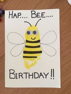 Image Result For Homemade Birthday Cards Dad From Toddler Present