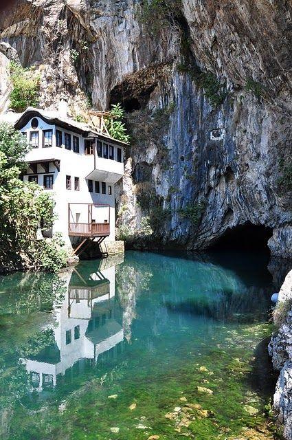 Blagaj, Bosnia and Herzegovina by David Thibault, via Flickr
