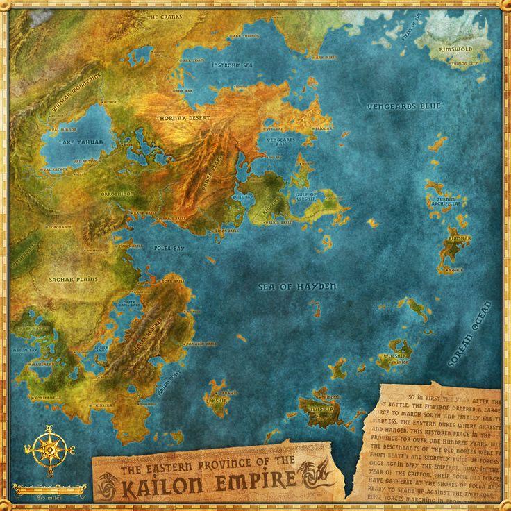 Kaidon Empire Map by Djekspek.deviantart.com on @DeviantArt