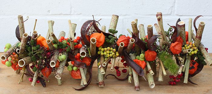 Autumn table piece | Pure decoration
