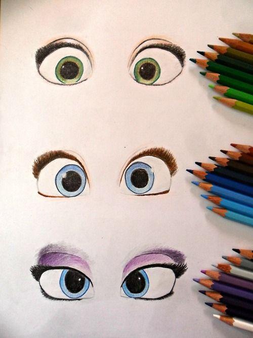 Tumblr- isrealforusr Rapunzel Anna Elsa
