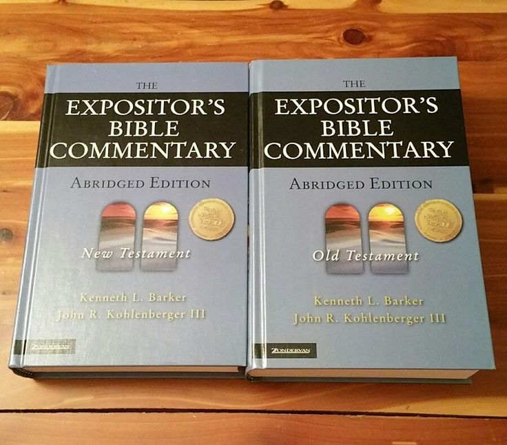 The Expositor's Bible Commentary: Expositors Bible Commentary Old & NewTestament | Books, Nonfiction | eBay!