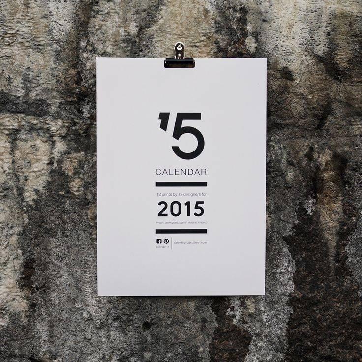 12 designers and 12 prints for Calendar 15. Layout by Sini Henttonen. Photography by Joona Louhi.