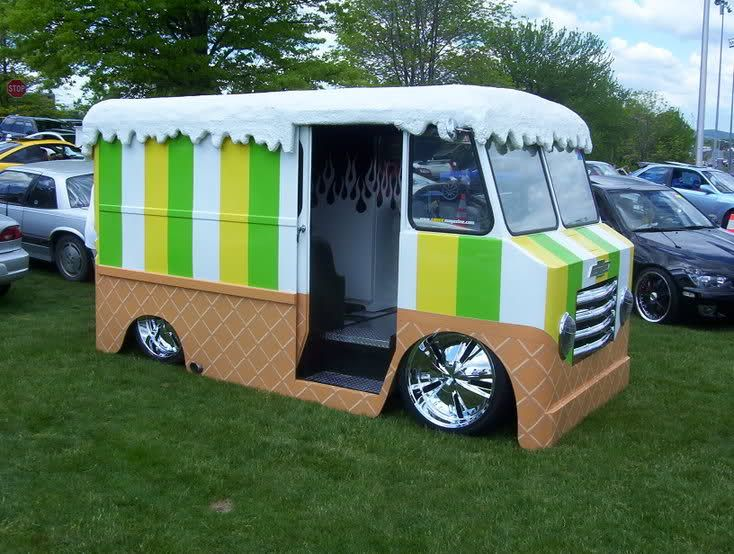 What Teacher Wouldnt Want To Spend Their Summeru0027s Driving Around Selling Ice  Cream.    Pimped Out Ice Cream Truck