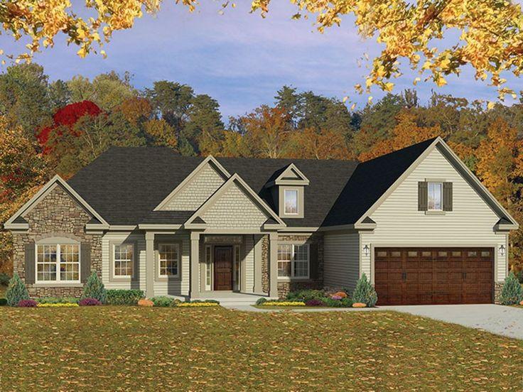 Eplans Ranch House Plan Elegant Styling 2109 Square