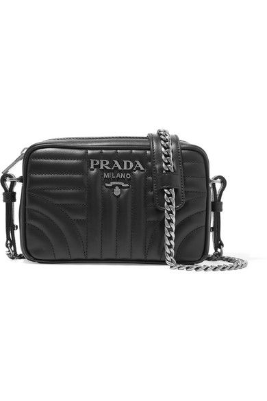45fff9632067 PRADA Quilted leather camera bag