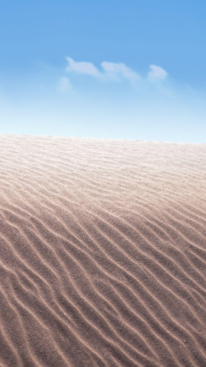 Desert Nature Sand Dunes Blue Sky 720x1280 Wallpaper Blue Sunset Desert Wallpaper Blue Sky